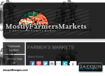 mostly farmers markets