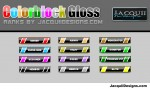 1 RANKS colorblock gloss
