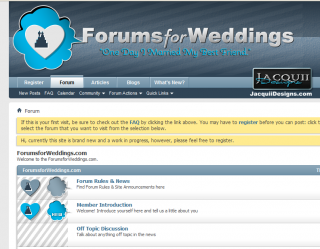 forums for weddings preview