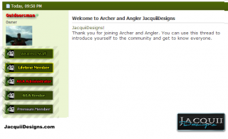 RANKS archer and angler