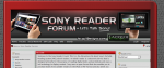 sony reader forum